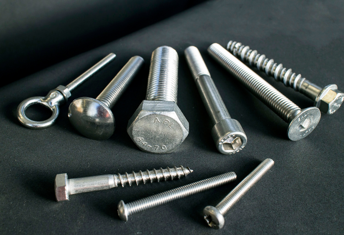 Stainless steel fasteners ss l