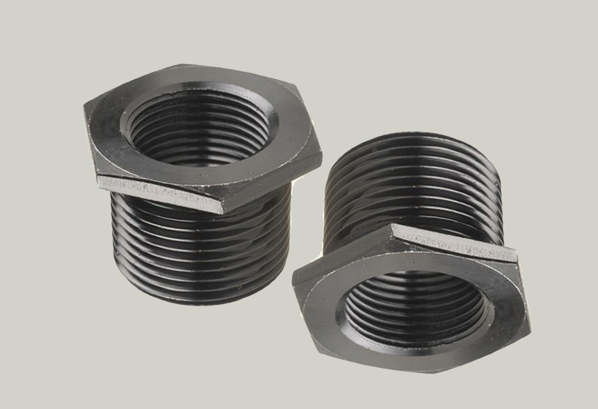 Threaded bushings forged stainless
