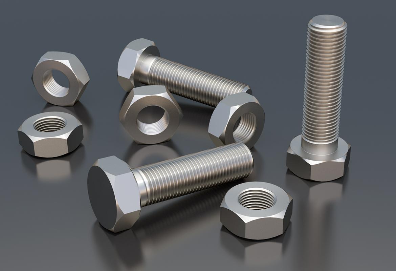 Carbon steel nuts a bolts cs stud