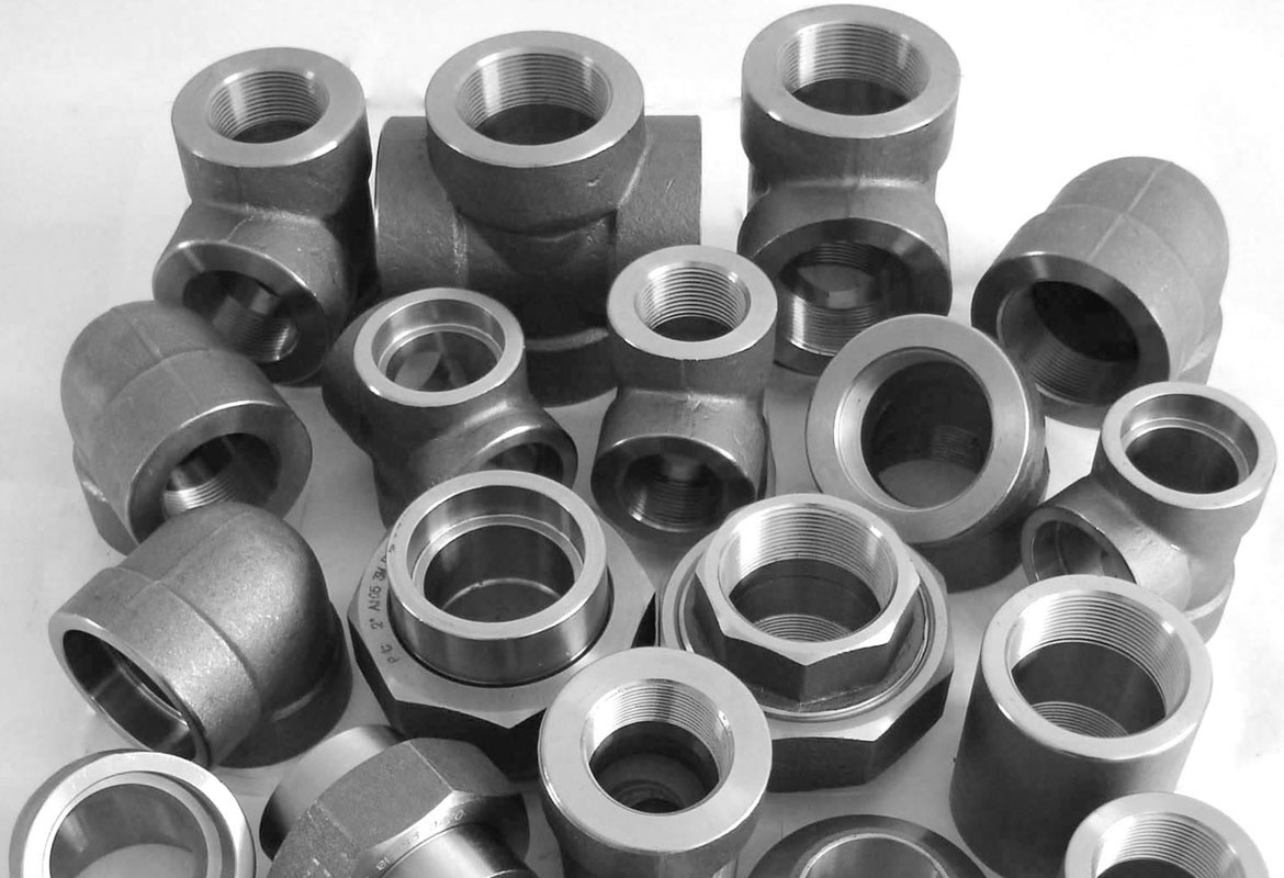Steel Pipe Couplers : Carbon steel forged pipe fittings socket