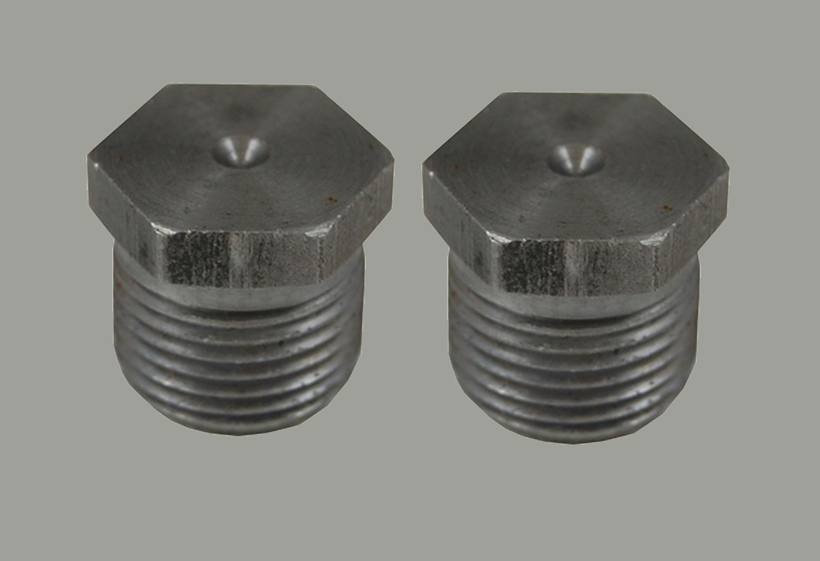 Threaded plugs forged stainless steel
