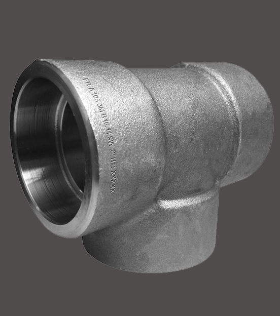 Socket weld tees forged stainless steel