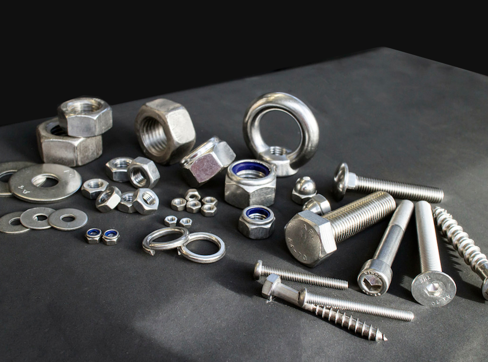 Alloy 20 Industrial Fasteners