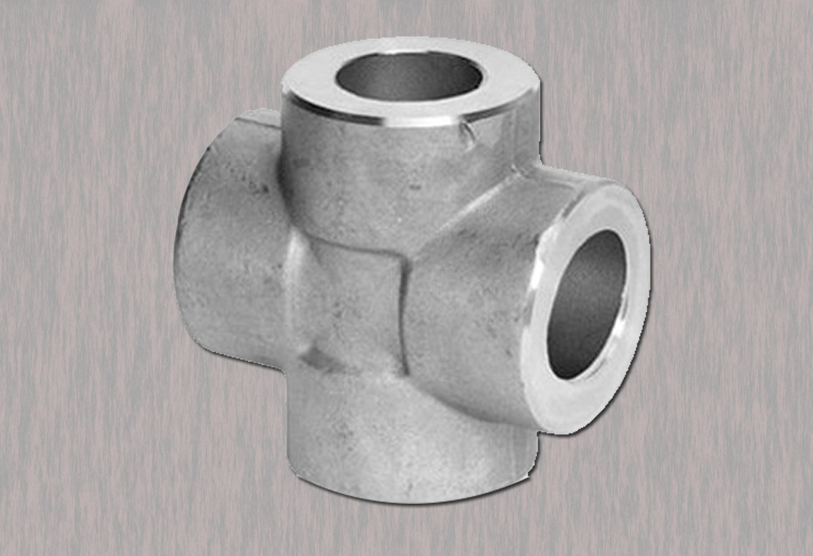 Stainless Steel Forged Socket weld Cross