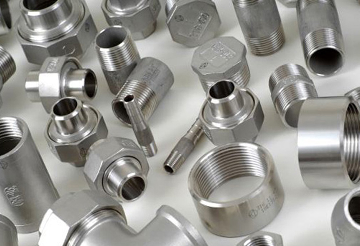 Stainless steel forged fittings ss l high pressure