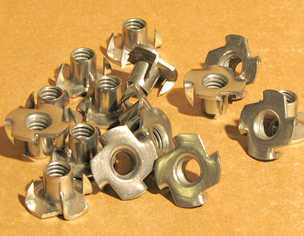 Nickel Alloy 200 / 201 T-Nuts