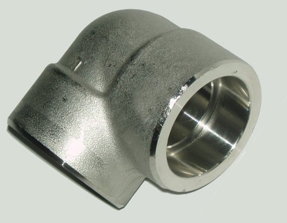 Socket weld elbows forged stainless steel