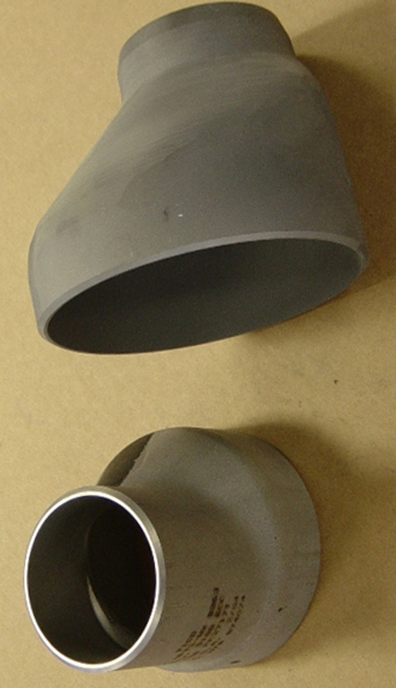 Titanium pipe fittings alloy buttweld